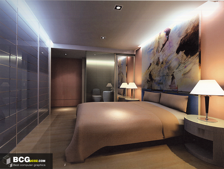 Bedroom Interior 3dmax Scenes 63 Free