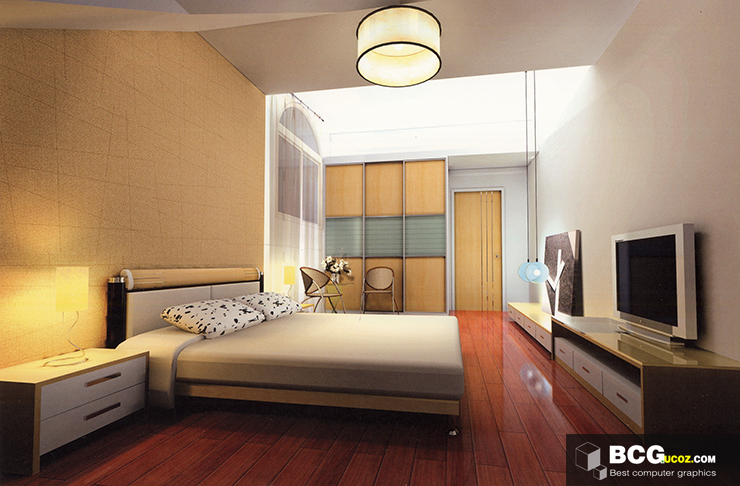 3dmax scenes 66 free 3ds max model bedroom interior free download