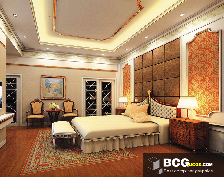 Bedroom Interior 3dmax Scenes 66 Free 3ds Max Model Bedroom Interior Free Download 18 June